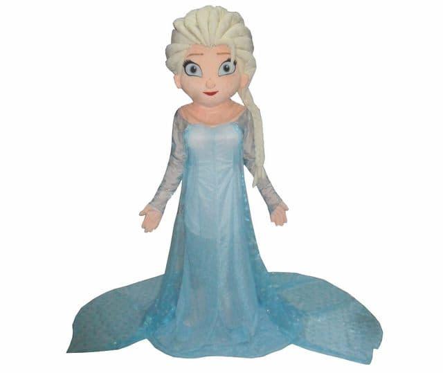 Amusements PopUp - Elsa Frozen mascotte