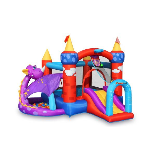 Location de jeux gonflables Montreal Bounce house rentals Dragon