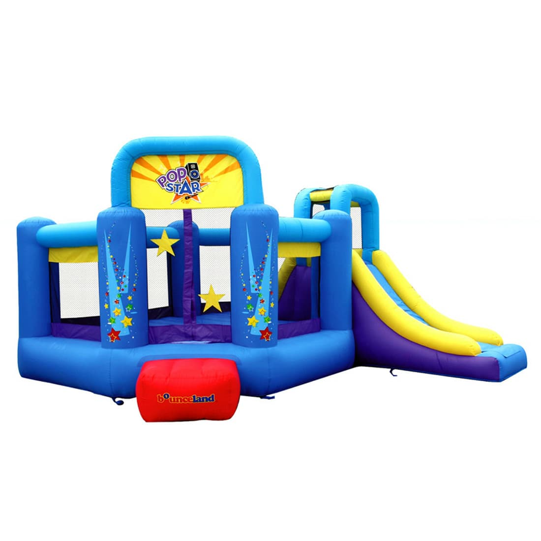 Location de jeu gonflables Montreal Bounce house rentals Popstar